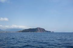 Alanya kasztelu morze i skała Obrazy Royalty Free