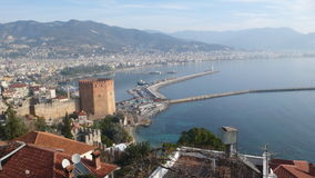 Alanya landscape for holiday Stock Image