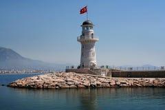 Alanya Lighthouse Stock Photo