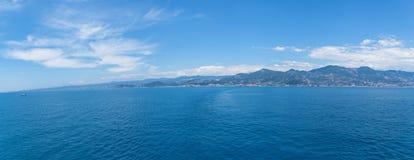 Alanya linii brzegowej widok od morza Fotografia Royalty Free