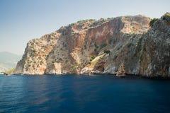 Alanya półwysep, Alanya, Turcja Obrazy Stock