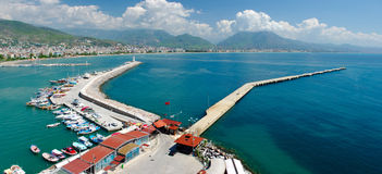 Alanya pier Royalty Free Stock Images