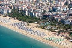 Alanya - plaża Cleopatra Zdjęcie Stock