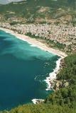 alanya plażowy miasta indyk Fotografia Royalty Free