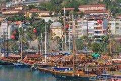 Alanya port Stock Photography