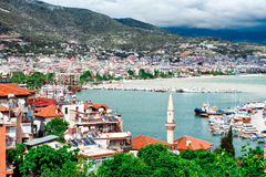 Alanya port. Turkey Royalty Free Stock Photography
