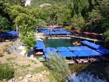 Alanya Restoran Park. Antalya Alanya Restaurant Park Stock Photo