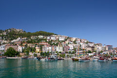 Alanya seaside Royalty Free Stock Photos