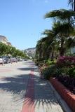 Alanya Straße lizenzfreies stockfoto