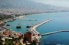 Alanya Turkey Royalty Free Stock Photos