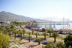 Alanya, Turkey - September 15, 2013: Resort Alanya on September 15, 2013, Alanya, Turkey Royalty Free Stock Images