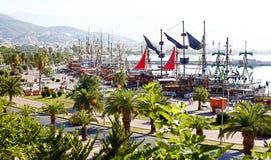 Alanya, Turkey - September 15, 2013: Resort Alanya on September 15, 2013, Alanya, Turkey Stock Images