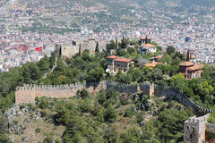 Alanya, Turquia, fortaleza antiga Fotografia de Stock Royalty Free
