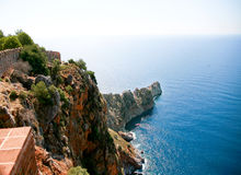 Alanya view from castle Royalty Free Stock Image