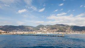 Alanya Waterfront Stock Photography