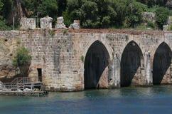 Alanyas' mediterranean coastline Royalty Free Stock Photo