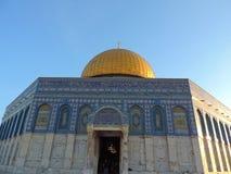 alaqsajerusalem moské arkivfoton