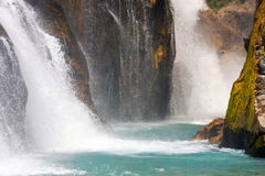 Alara Ucansu Selalesi, Waterfall Stock Photos