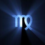 Alargamento do Virgo do símbolo da astrologia Imagens de Stock