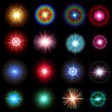 Alargamentos do arco-íris Imagem de Stock Royalty Free