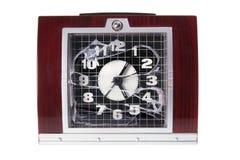 alarm łamający zegar Obraz Royalty Free