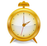 Alarm. Isolated on the white background Royalty Free Stock Images