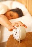 alarm av switchingkvinna Royaltyfri Bild