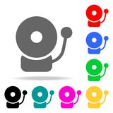 Alarm bell icon. Element firefighters multi colored icons for mobile concept and web apps. Icon for website design and development. App development. Premium Stock Photography