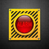 Alarm bulb. Royalty Free Stock Photography