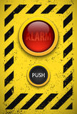 Alarm bulb. Stock Photo