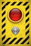 Alarm bulb. Stock Images