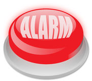 Alarm button stock photography