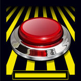 Alarm  button Royalty Free Stock Image
