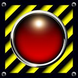 Alarm button background Stock Photos