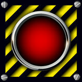 Alarm button background Stock Images