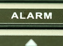 Alarm button Stock Images