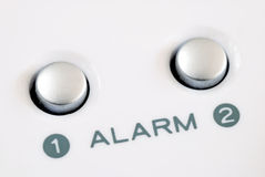 Alarm buttons Stock Images