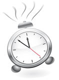 Alarm clock. With a bell. Vector illustration Stock Photo