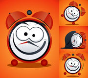 Alarm Clock. Cartoon Alarm Clock  drawing Stock Images