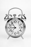 Alarm clock. On a white background Royalty Free Stock Images