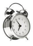 Alarm-clock. On white background Royalty Free Stock Image