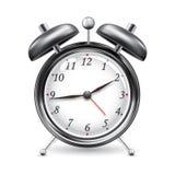 Alarm Clock. Illustration ofalarm clock on isolated white background Royalty Free Stock Images