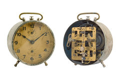 Alarm clock-2. Old-time alarm clock (With Clipping Path Stock Photography