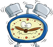 Alarm clock. On white background, vector Royalty Free Stock Photography
