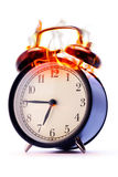Alarm clock. The alarm clock has lit up from a call royalty free stock image