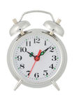 Alarm clock. On a white background Stock Image