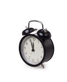 Alarm clock. On white background Royalty Free Stock Photo