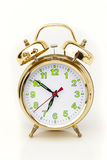Alarm clock. On white background Stock Images
