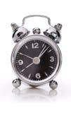 Alarm clock. On white background royalty free stock image