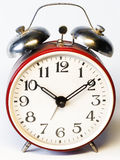 Alarm clock. Old-fashioned alarm clock stock photography